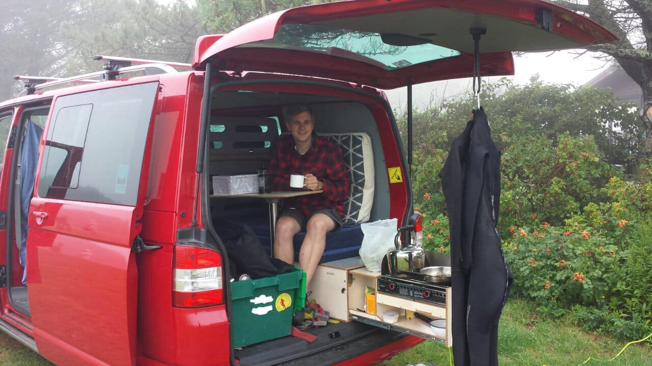 Berlingo Boot Jump Car To Camper Conversion Unit Wales Uk Amdro Alternative Campervans